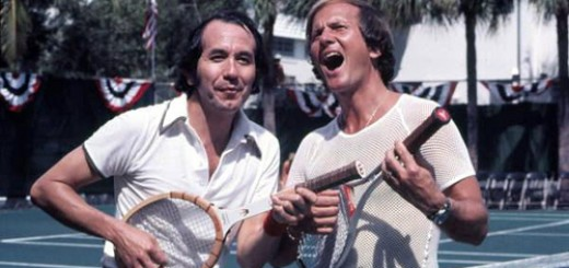 [Musicians Trini Lopez and Pat Boone during a tennis event: Fort Lauderdale, Florida] sur Flickr