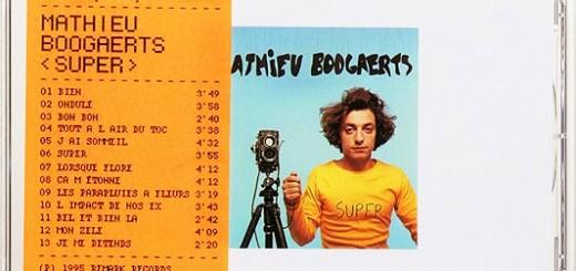 Mathieu Boogaerts - Super